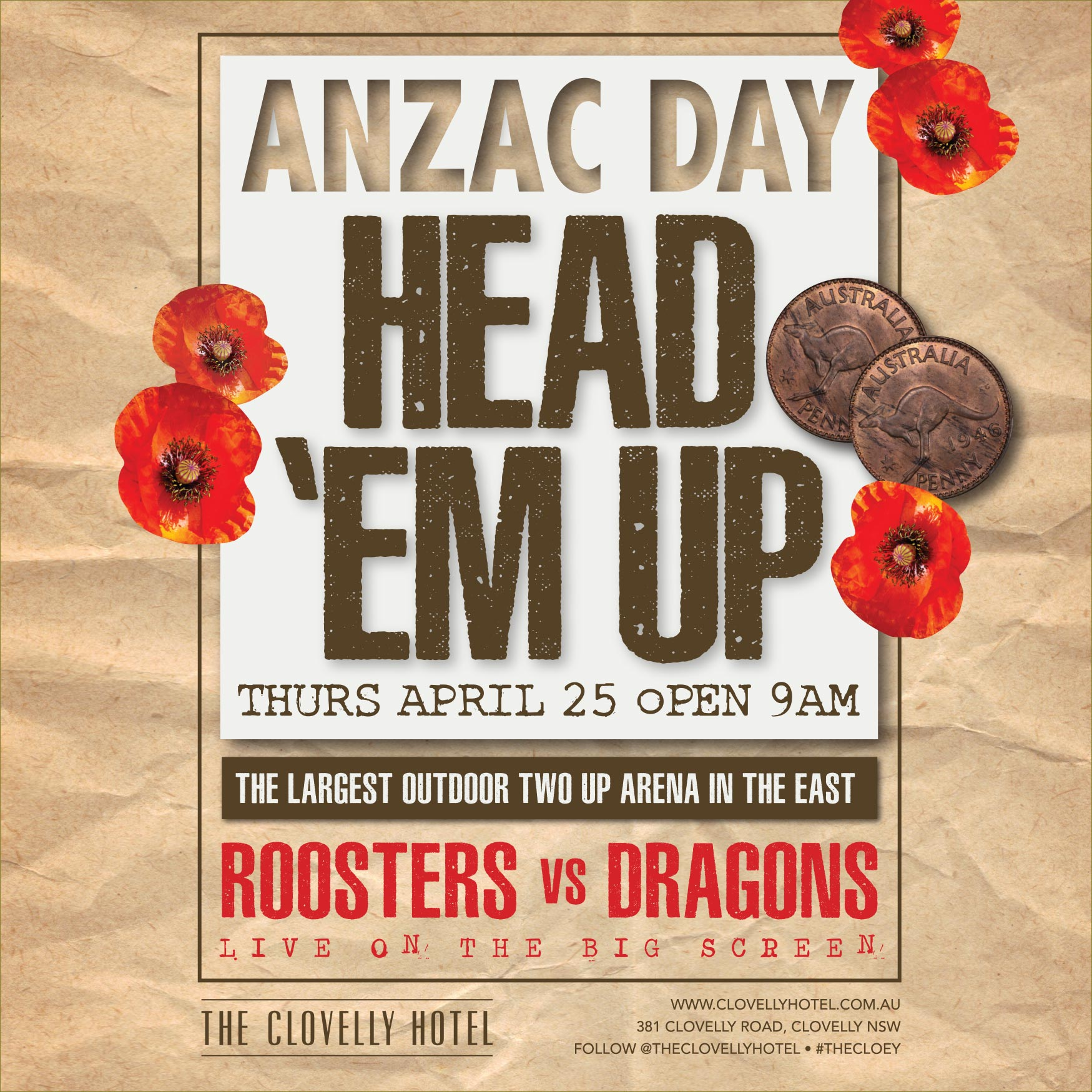 ANZAC Day at the Cloey