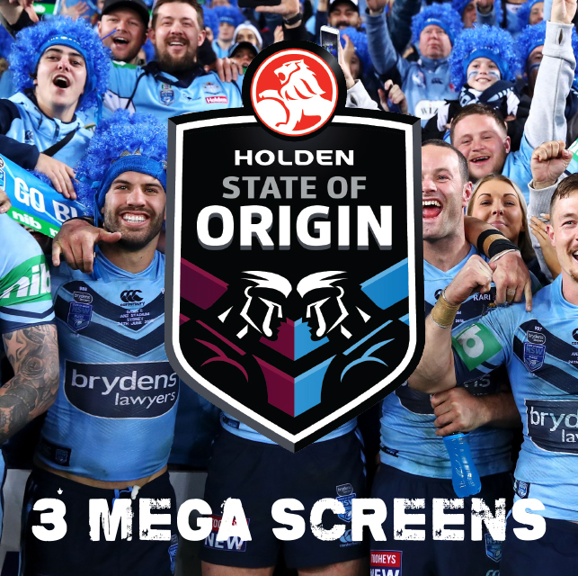 State of Origin - live and loud at the Cloey