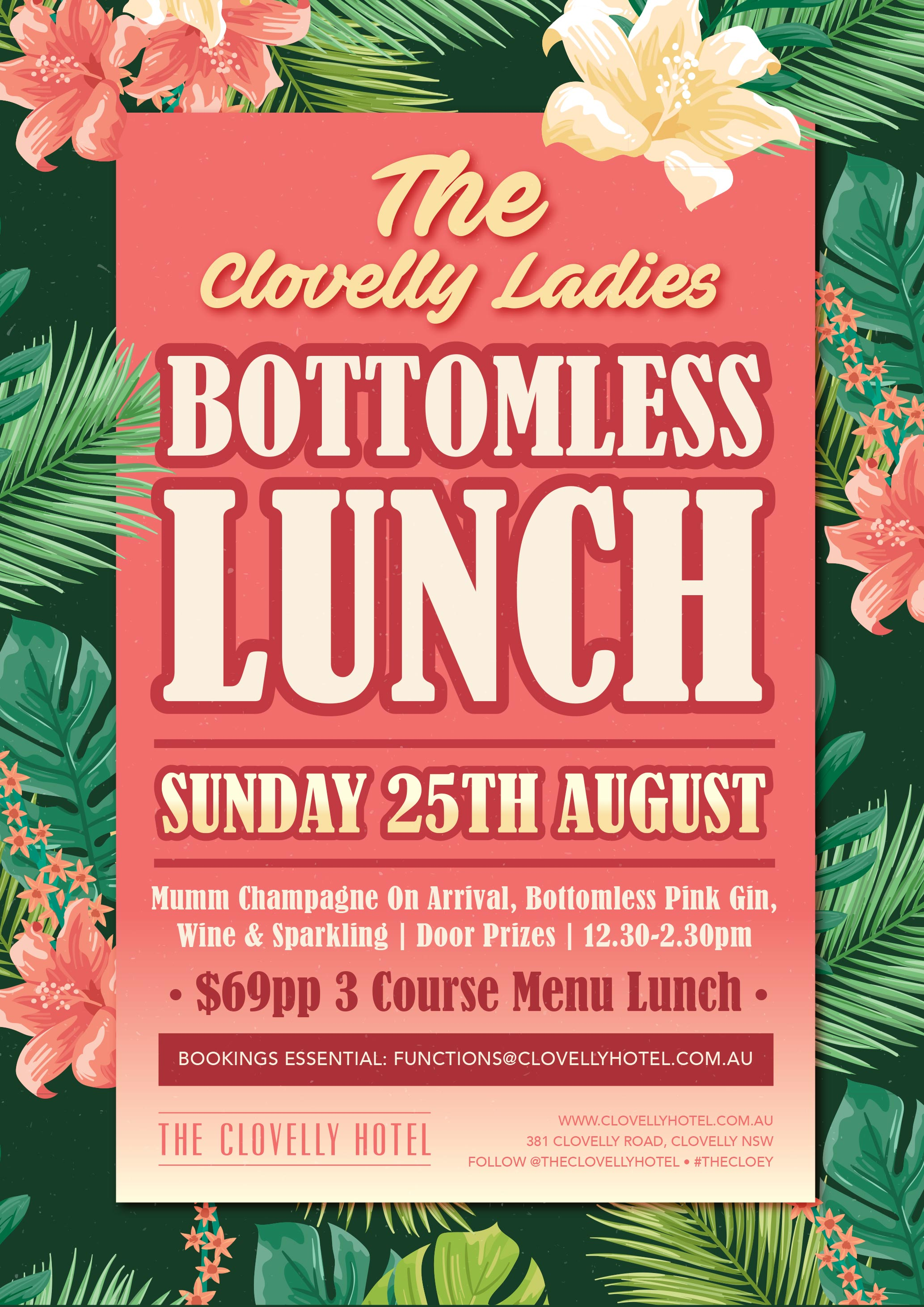 Bottomless Lunch at the Clovelly