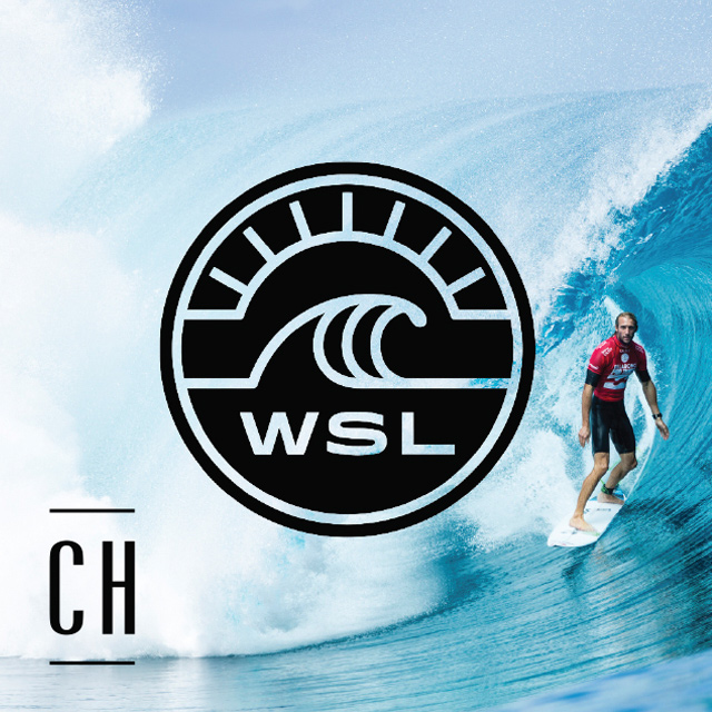 World Surf League shown live and loud at the Cloey