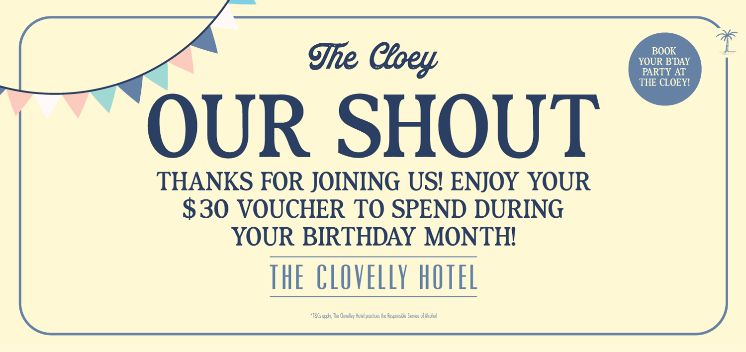The Cloey Birthday Club