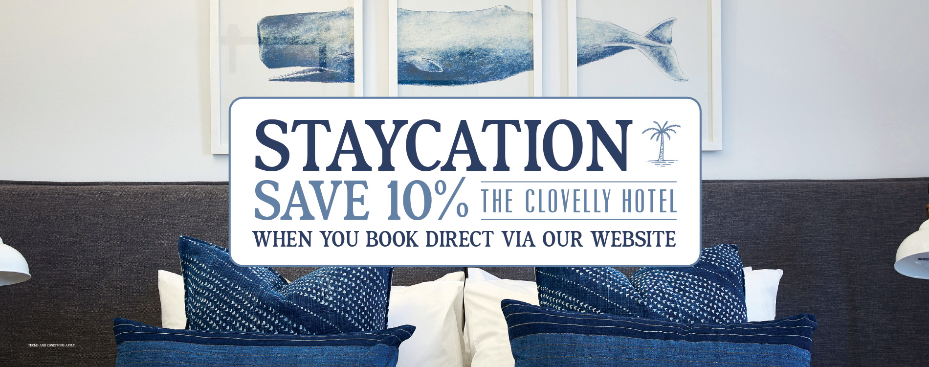 Save 10% when booking acccommodation on the Cloey website