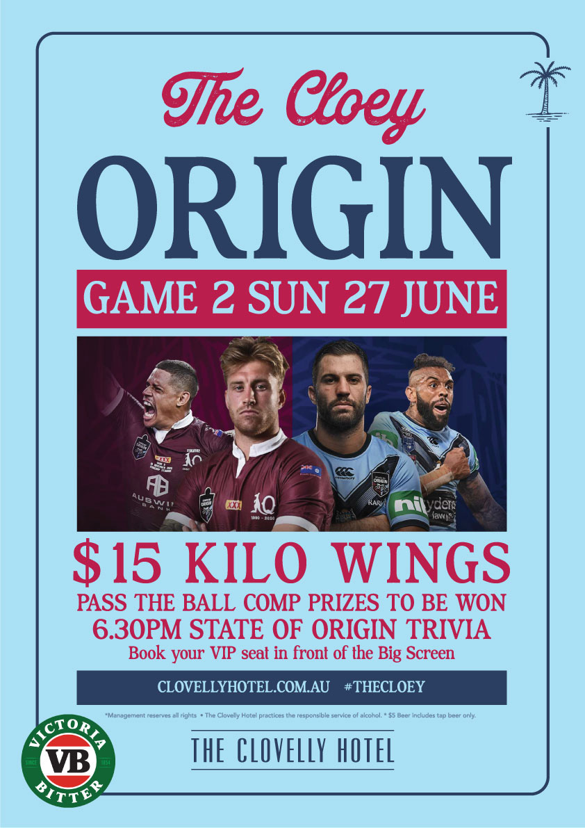 SOO Game 2 - Live and Loud at the Cloey Hotel